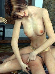 Ripe mature lady with great jugs enjoys the stiffness of her sonny`s shlong